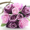 12 Colors Hot Selling Rose Bouquet Artificial Flower (SF12504)