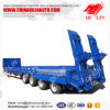 4 Axles Heavy Duty Lowbed Trailer/Gandola Remolque