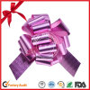 Plain Poly Ribbon Valentine′s Present Wrapping POM POM Pull Bow