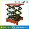 Hot Selling Vertical Cargo Lift/Scissor Cargo Lift for Warehouse