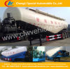 3 Alxes V Type Bulk Cement Power Tank Semi-Trailer