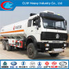 6*4 North Benz Petro Tanker Truck with Double Nozzle Dispenser