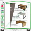 Store Fixtures Nesting Wooden Display Tables for Clothing Store
