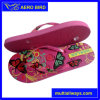 African Wholesaler Price PE Slippers with Colorful Strap (14G012)