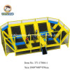Olympic Standard Building Indoor Trampoline with Foam Pit, Dodge Ball, Basket Ball
