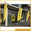 2.8m Event Promotion Aluminium Digital Printing Feather Flag/Flying Flag