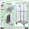 Z Base 4 Door Storage Roll Cage Container