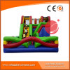 Multi-Function Inflatable Jumping Bouncer/Inflatable Combo with Slide T3-450
