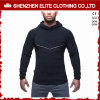 Slim Fit Gym Blank Waterproof Zipper Bodybuilding Hoodie for Men (ELTHSJ-1070)