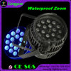 18PCS 10W Waterproof RGBW LED Zoom PAR Outdoor