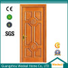 MDF HDF Painted Interior Solid Wooden Door for Projects