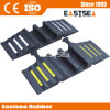 Black & Yellow Rubber Fire Car Hose Ramp