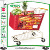 180L Supermarket Plastic Shopping Trolley Shopping Cart
