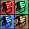 RGB LED Light 15W*12PCS COB LEDs for Outdoor Lighting IP65 Waterproof