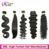 Professional Human Hair Manufacturer 100% Virgin Human Hair on Sale