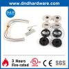 Furniture Hardware Handle with Plastic Base for Metal Door (DDPL004)