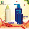 Empty Plastic Shampoo Bottle with Pump