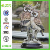 Two Freezing to Death Owls Stand (NF86095)