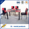 4/6/8 Seater Dining Table Modern Painting Glass Dining Sets