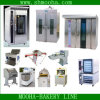 Baking Bread Equipment Rack Oven (complete line for baking supplied)