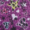 Oxford 600d High Density PVC/PU Star & Heart Printed Polyester Fabric