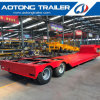 50-80 Tons Gooseneck Low Bed Truck Trailer for Sale
