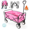High Quality Shopping Beach Carrying Folding Tool Cart