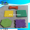 Fantastic Quality Certificated Outdoor Bright Color Rubber Flooring