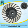 Romatools Diamond Cup Wheels of Swirling Turbo for Marble