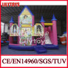 Factory Customized Bouncer Castle with Slide (J-BC-041)