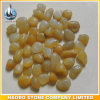 Decorative Pebbles for Garden and Pavement Yellow Color