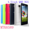 """4.5"""" Capacitive Touch Screen Quad Core Mtk6582 Android Smart Phone"""