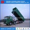 Heavy Duty Sino Truck HOWO 12 Wheeler Hyva Brand Hydraulic Tipper Truck 50t Dump Truck for Sale