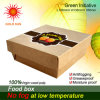 2013 Newest Fast Food Packaging, Square Fast Food Box (K135-D)