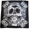 OEM Produce Customized Logo Skull Printed Bikers Outdoor Sports Head Bandana