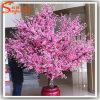 Hotel Decoration Artificial Plant Indoor Pink Blossom Tree