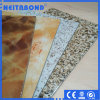 Neitabond Aluminum Composite Panel with Marble Color in Construction Wall Decor