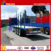 Cargo Log Tranport Side Wall Flatbed Trailer