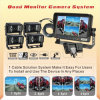 Quad Monitor Camera System With 480TVL Rear View Camera (DF-7370364)