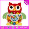 New Design Intelligent Wooden Funny Puzzle Alarm Clock W14k018