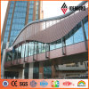 Overline Bridge Brwon Coffee PVDF Paint Aluminum Panels Cladding