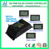 12V/24V 30A Solar Charge Controller with LCD Display (QWP-1430RSL-34)