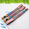 Festival Woven Wristband Bracelet with Lock