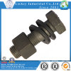 ASTM A325 Structural Hex Bolt, Alloy Steel, Heat Treated, 120/105ksi Minimum Tensile Strength