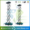 8m to 14m Electric Hyraulic Vehicle Mounted Scissor Elevator Platform