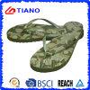 Summer Beach Flip Flops for Men with Printing (TNK10023)