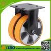 Heavy Duty PU Caster Twin Wheels Industrial Caster
