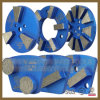 Trapezoid Concrete Abrasive Tools Diamond Grinding Pads for Floor Grinder