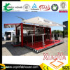 Container Shop Fast Foor Restaurant with Canopy