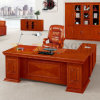 Fsc Certified Reddish Brown Office Executive Desk for Office Furniture